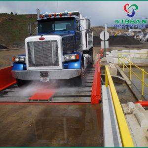 drive through truck wash