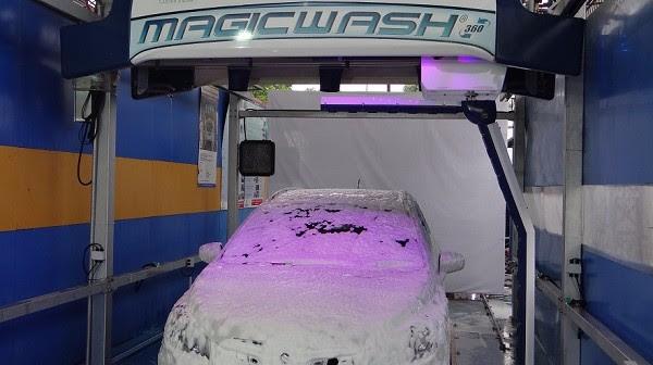 automatic car wash sysem